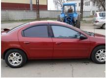 Дефлекторы окон Chrysler Neon II /1999-2005/. Ветровики Крайслер Неон [Cobra]
