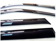 Дефлекторы окон Acura RDX I /2006-2012/. Ветровики Акура РДХ [Cobra]