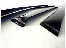 Дефлекторы окон Audi A5 (8T) /Sportback, 2009+/. Ветровики Ауди А5 [Cobra]