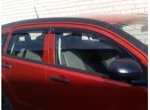 Дефлекторы окон Dodge Caliber /2006-2012/. Ветровики Додж Калибер [Cobra]
