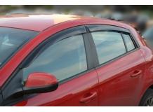 Дефлекторы окон Fiat Bravo II /2008-2014/. Ветровики Фиат Браво [Cobra]