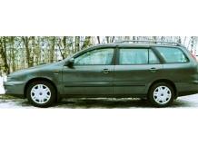 Дефлекторы окон Fiat Marea Weekend /1996-2007/. Ветровики Фиат Мареа [Cobra]