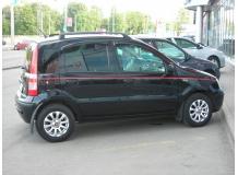 Дефлекторы окон Fiat Panda II /2003-2012/. Ветровики Фиат Панда [Cobra]