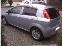Дефлекторы окон Fiat Punto III (Grande Punto) /Хэтчбек, 2005-2009/. Ветровики Фиат Пунто [Cobra]
