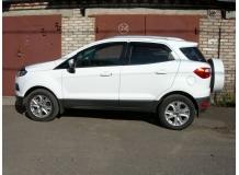 Дефлекторы окон Ford EcoSport II /2013+/. Ветровики Форд Экоспорт [Cobra]