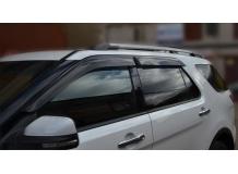 Дефлекторы окон Ford Explorer V /2010+/. Ветровики Форд Эксплорер [Cobra]