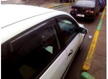 Дефлекторы окон Ford Fiesta V /Хэтчбек, 2002-2008/. Ветровики Форд Фиеста [Cobra]