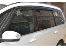 Дефлекторы окон Ford Galaxy II /2006-2015/. Ветровики Форд Галакси [Cobra]