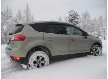 Дефлекторы окон Ford Kuga I /2008-2013/. Ветровики Форд Куга [Cobra]
