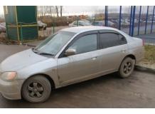 Дефлекторы окон Honda Civic VI /1995-2001, Седан/. Ветровики Хонда Цивик [Cobra]