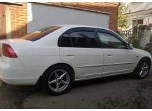 Дефлекторы окон Honda Civic VII /2000-2005, Седан/. Ветровики Хонда Цивик [Cobra]