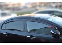 Дефлекторы окон Honda Civic VIII /2006-2011, Седан/. Ветровики Хонда Цивик [Cobra]