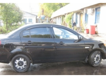 Дефлекторы окон Hyundai Accent III (MC) /2006-2010/. Ветровики Хюндай Акцент [Cobra]