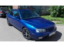 Дефлекторы окон Hyundai Elantra XD /2000-2006, Хэтчбек/. Ветровики Хюндай Элантра [Cobra]