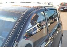 Дефлекторы окон Hyundai Getz /Хэтчбек, 2002-2011/. Ветровики Хюндай Гетц [Cobra]