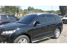 Дефлекторы окон Hyundai SantaFe II /2006-2012/. Ветровики Хюндай СантаФе [Cobra]