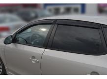 Дефлекторы окон Hyundai i30 I /2007-2012, Хэтчбек/. Ветровики Хюндай i30 [Cobra]