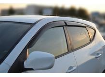 Дефлекторы окон Hyundai ix35 /2010+/. Ветровики Хюндай ix35 [Cobra]