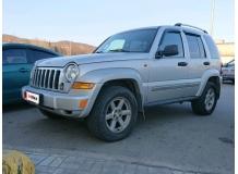 Дефлекторы окон Jeep Cherokee III (KJ) /2001-2008/. Ветровики Джип Чероки [Cobra]
