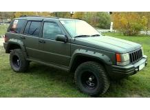 Дефлекторы окон Jeep Grand Cherokee I (ZJ) /1991-1999/. Ветровики Джип Гранд Чероки [Cobra]