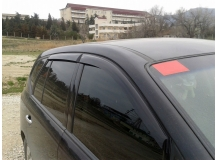 Дефлекторы окон Kia Carens III /2006-2013/. Ветровики Киа Каренс [Cobra]