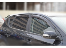 Дефлекторы окон Kia Ceed II (JD) /2012-2019, Хэтчбек/. Ветровики Киа Сиид [Cobra]