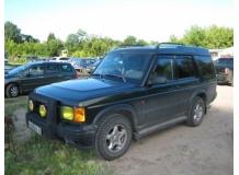 Дефлекторы окон Land Rover Discovery 2 /1998-2004/. Ветровики Лэнд Ровер Дискавери [Cobra]