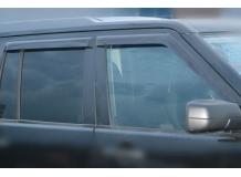 Дефлекторы окон Land Rover Discovery 3 /2004-2009/. Ветровики Лэнд Ровер Дискавери [Cobra]