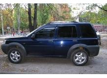 Дефлекторы окон Land Rover Freelander 1 /5D, 1997-2006/. Ветровики Лэнд Ровер Фрилендер [Cobra]