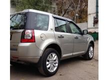 Дефлекторы окон Land Rover Freelander 2 /2006-2014/. Ветровики Лэнд Ровер Фрилендер [Cobra]