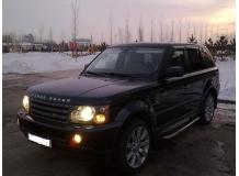 Дефлекторы окон Land Rover Range Rover Sport I /2005-2013/. Ветровики Рендж Ровер Спорт [Cobra]