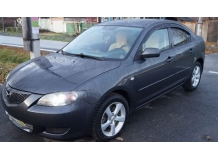 Дефлекторы окон Mazda 3 I /Седан, 2003-2009/. Ветровики Мазда 3 [Cobra]