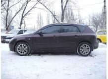 Дефлекторы окон Mazda 3 I /Хэтчбек, 2003-2009/. Ветровики Мазда 3 [Cobra]