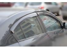 Дефлекторы окон Mazda 3 II /Седан, 2008-2013/. Ветровики Мазда 3 [Cobra]