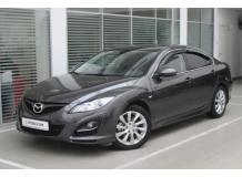 Дефлекторы окон Mazda 6 II /Седан, 2008-2012/. Ветровики Мазда 6 [Cobra]