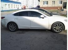 Дефлекторы окон Mazda 6 III /Седан, 2013+/. Ветровики Мазда 6 [Cobra]