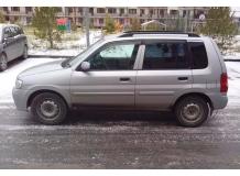 Дефлекторы окон Mazda Demio /1997-2003/. Ветровики Мазда Демио [Cobra]