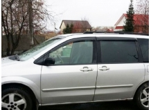 Дефлекторы окон Mazda MPV II /1999-2006/. Ветровики Мазда МПВ [Cobra]