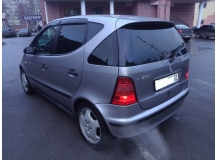 Дефлекторы окон Mercedes A (W168) /1997-2004/. Ветровики Мерседес А-класс [Cobra]