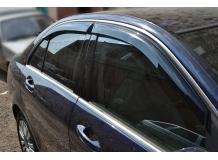 Дефлекторы окон Mercedes C (W204) /2007-2014/. Ветровики Мерседес Ц-класс [Cobra]