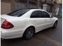 Дефлекторы окон Mercedes E (W211) /2002-2009/. Ветровики Мерседес Е-класс [Cobra]