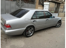Дефлекторы окон Mercedes S (W140) /SWB, 1990-1998/. Ветровики Мерседес С-класс [Cobra]