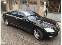 Дефлекторы окон Mercedes S (W221) /LWB, 2005-2013/. Ветровики Мерседес С-класс [Cobra]