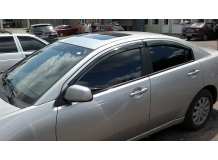 Дефлекторы окон Mitsubishi Galant IX /Седан, 2003-2012/. Ветровики Мицубиси Галант [Cobra]