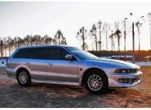Дефлекторы окон Mitsubishi Galant VIII /Универсал, 1997-2004/. Ветровики Мицубиси Галант [Cobra]