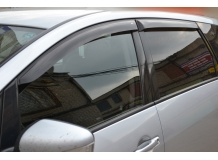 Дефлекторы окон Mitsubishi Grandis I /2003-2012/. Ветровики Мицубиси Грандис [Cobra]