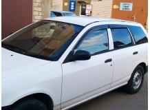 Дефлекторы окон Nissan AD Van Y11 /1999-2006/. Ветровики Ниссан АД Ван [Cobra]