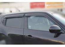 Дефлекторы окон Nissan Juke /2010+/. Ветровики Ниссан Джук [Cobra]