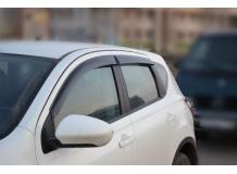 Дефлекторы окон Nissan Qashqai I /2006-2014/. Ветровики Ниссан Кашкай [Cobra]