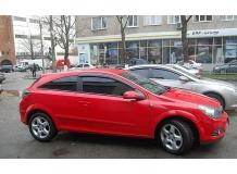 Дефлекторы окон Opel Astra H /3D, 2004-2011/. Ветровики Опель Астра Н [Cobra]